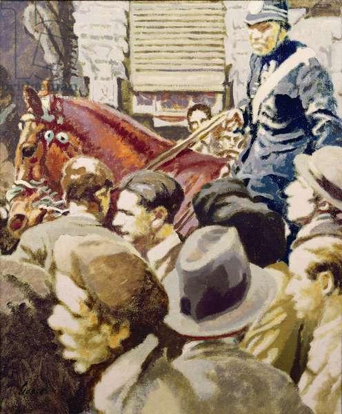 Madrid Crowd, 1931