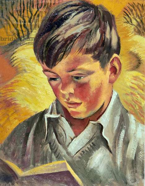 Robin (the Artist's Son, aged 8) 1950 (oil on canvas)