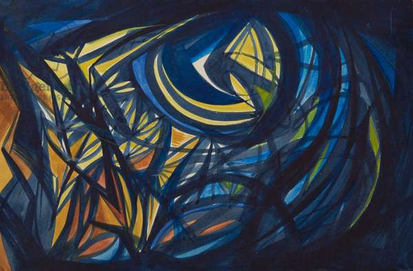 Moonlight, c.1958 (w/c on paper)