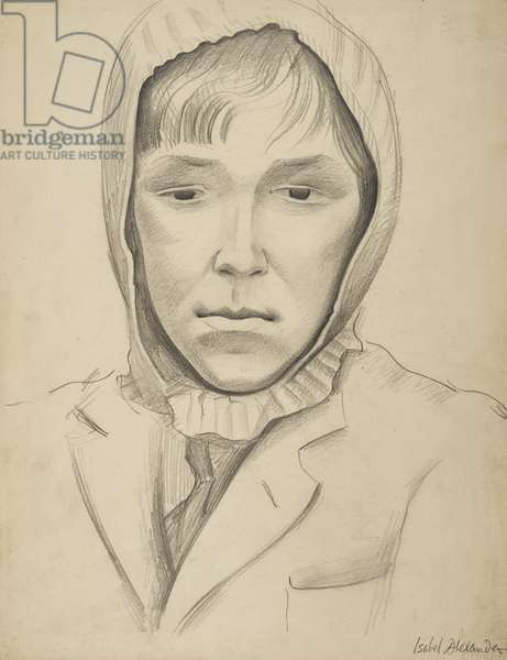 Graham, Evacuee from Swansea, 1944 (pencil on paper)