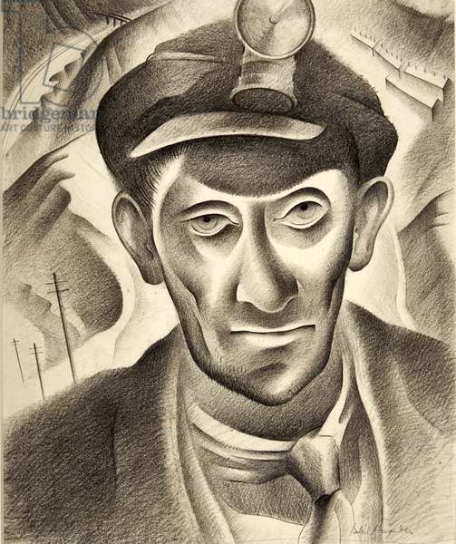 EL, the Overman, 1944 (litho)