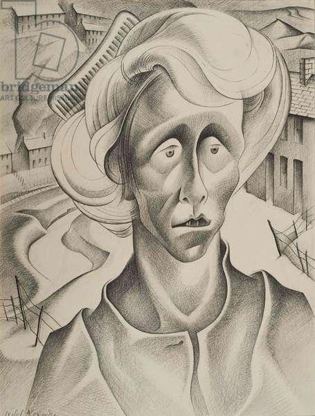 Mrs C, 1943 (litho)