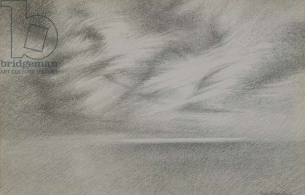 Way to the Isles, 1983 (pencil on paper)