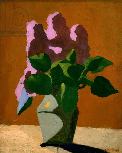 Les lilas, 1890 (oil on canvas)