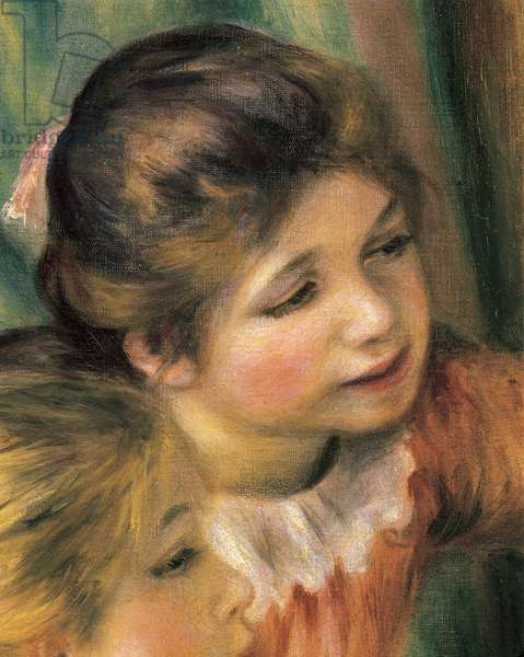 Young girls at the piano, detail, 1892 (oil on canvas)