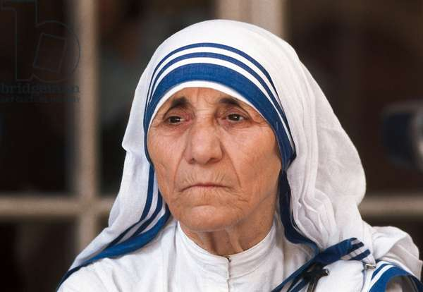 Portrait of mother Teresa (Theresa) from Calcutta""""