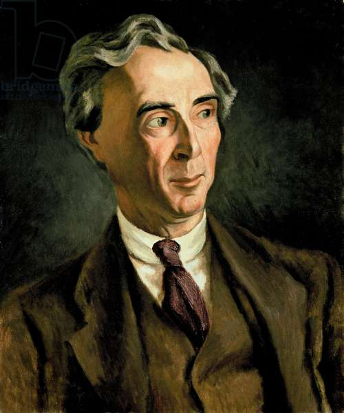 Bertrand Russell, c. 1923 (oil on canvas)