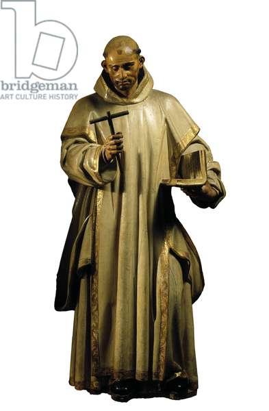 Saint Bruno, 1634 (wood sculpture)