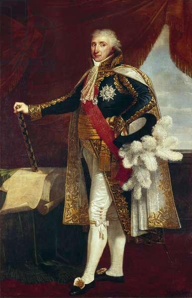 Portrait of Marshal Charles-Pierre-Francois Augereau, 1805