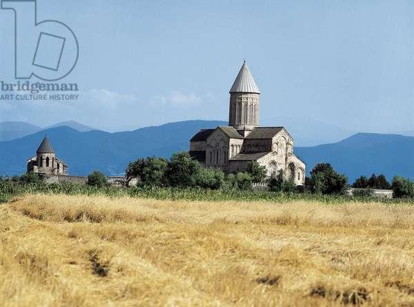 Cathedral of Saint George, Alaverdi, Kakheti, Georgi, 11th century (photo)
