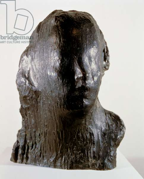 """Ecco Puer"" (Child Print. Portrait of Alfred Mond at the age of six), 1907 (bronze)"