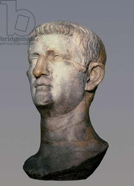 Roman Emperor Tiberius Claudius Nero (bust), 1st century