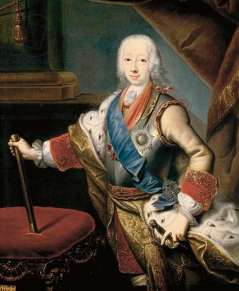 Portrait of Peter III of Russia, 1762