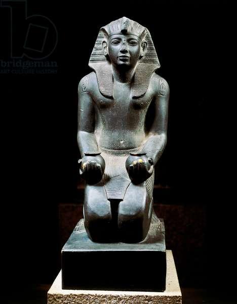 Schist statue of Ramses IV, c.1150-65 BC