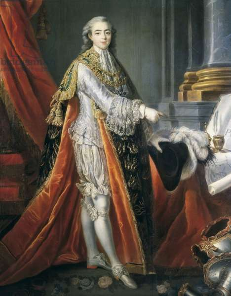 Portrait of Charles X of Bourbon (oil on canvas)