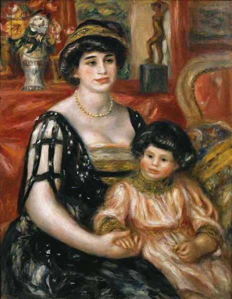 "Madame Josse Bernheim-Jeune et son fils Henry"""