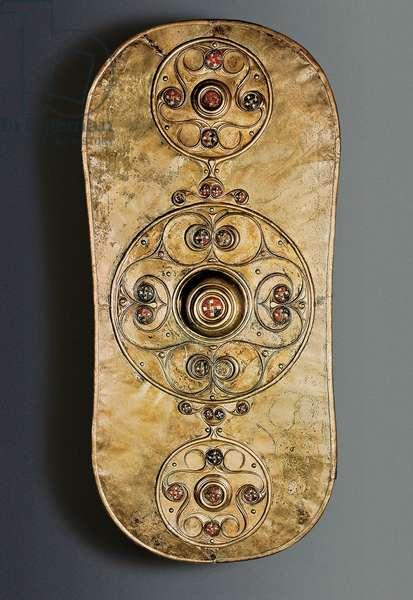The Battersea Shield, Iron Age, c. 350-50 BC (bronze)