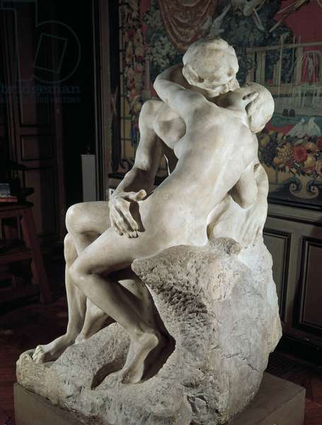 """""""The Kiss"""" 1888-1898 (marble)"""