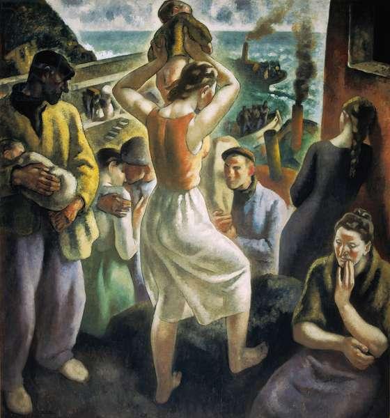 "Spanish Civil War: ""The Exodus"" (painting)"