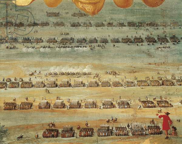Thirty Years' War: Battle of Rocroi, detail, 1643 (painting)