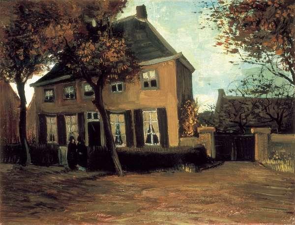 The Parish House of Nuenen, 1885 (oil on canvas)
