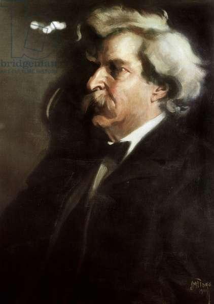 Portrait of Mark Twain, 1900 (painting)