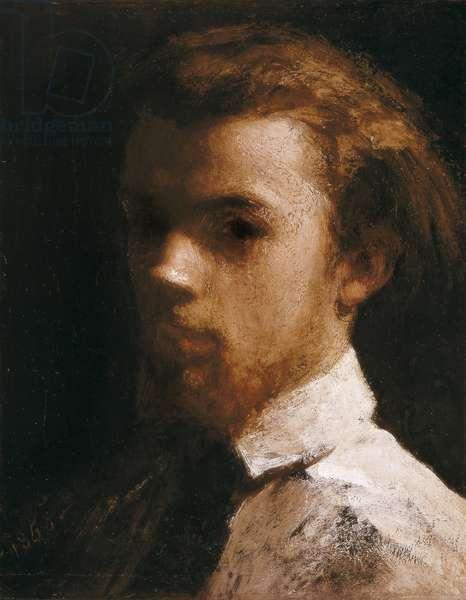 Self-Portrait, 1858 (oil on canvas)