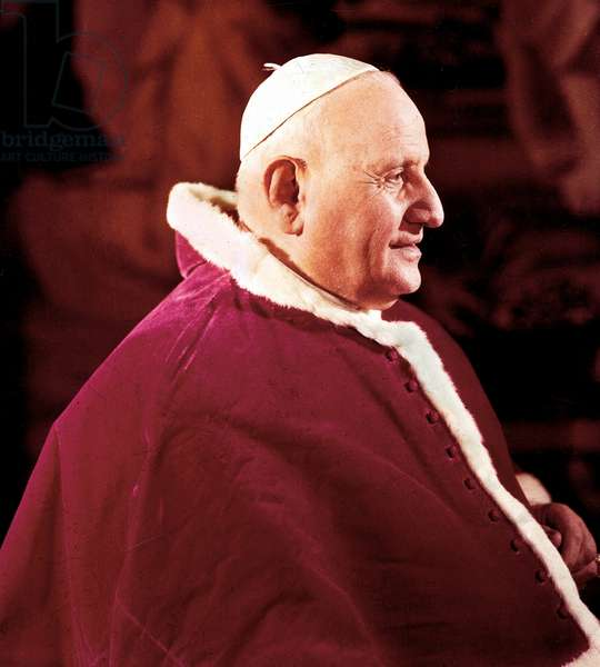 Portrait of Pope John XXIII (Giovanni 23, Angelo Giuseppe Roncalli, 1881-1963)