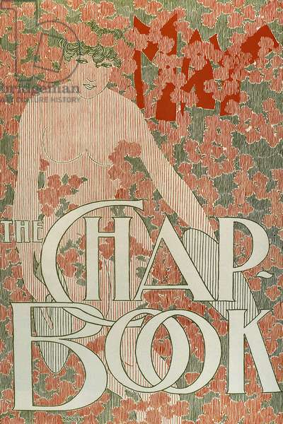 """Publication for the American magazine """"The Chap-Book"""", May 1895 (colour litho)"""