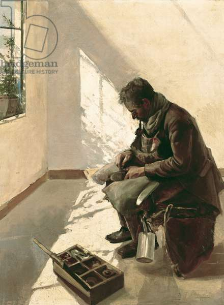 The shoemaker, 1894 (oil on canvas)
