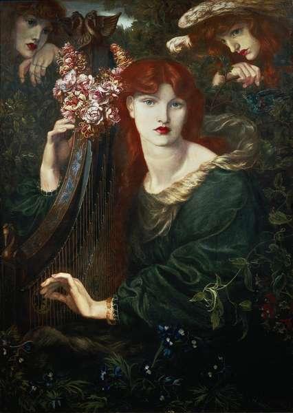 """The Ghirlandata"", painting by Dante Gabriel Rossetti, 1873"