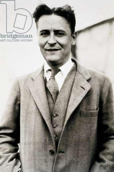 Portrait of the American writer Francis Scott Fitzgerald (1896-1940) en 1928