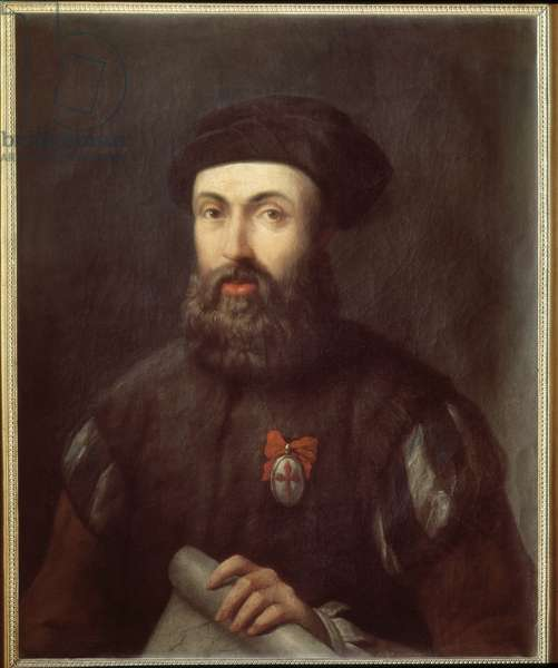 Portrait of the Portuguese navigator and explorer Fernand Magellan (1480-1521)