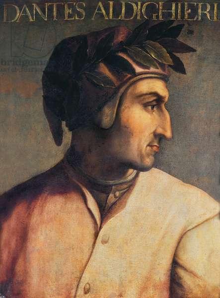 Portrait of Dante Alighieri (1265-1321), 17th century