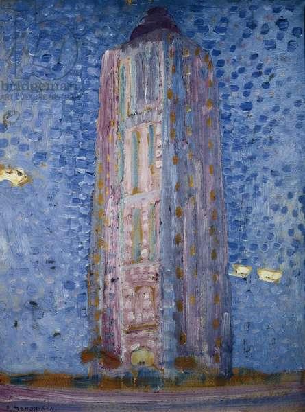 Le phare de Westkapelle, 1909 (peinture)