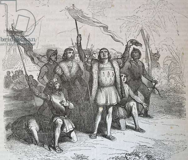 COLUMBUS, ChrIstopher (1451-1506). Sailor at the Catholic Monarchs' service, discoverer of America in 1492.