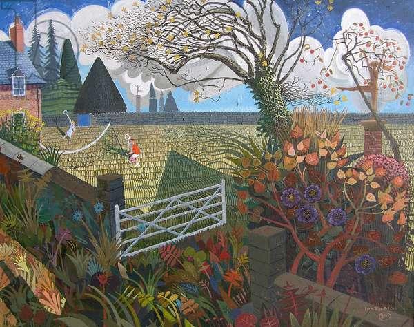 Pembrokeshire Holiday, 2006 (acrylic)