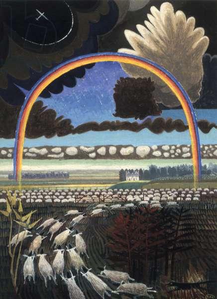 The Rainbow, 2005 (acrylic)