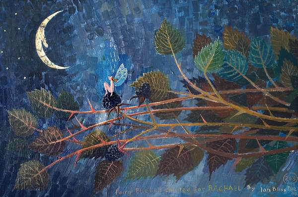 Fairy Snowdrop, 2004 (acrylic)