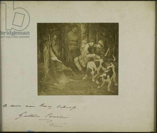 Photograph of La Curee (19th century)