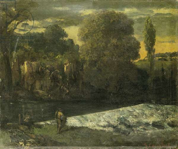 Little Angler of Ornans (circa 1863)
