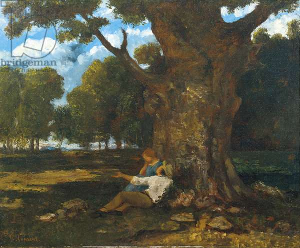 Lover in the countryside (1873)
