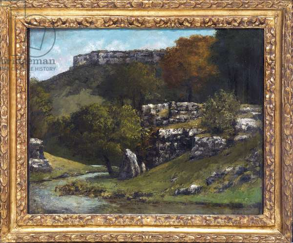 Landscape near Ornans (1873)