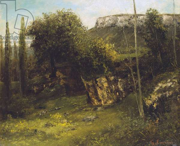 Landscape of the Jura (1872-1873)