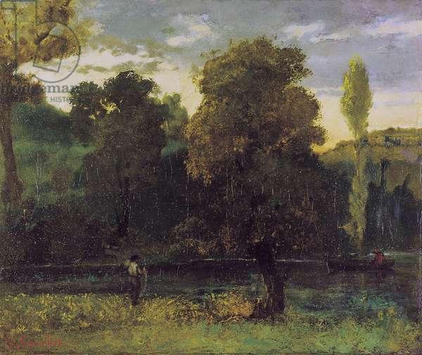 Boat walk (circa 1864)