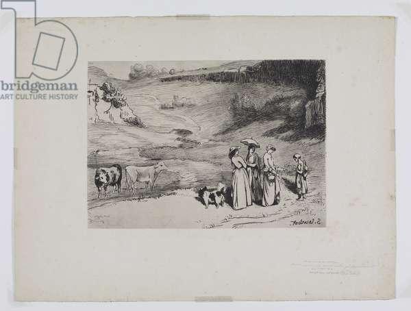 The Village Bridesmaids (19th century)