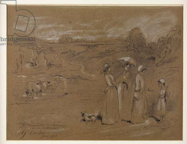 The Village Bridesmaids (1860)