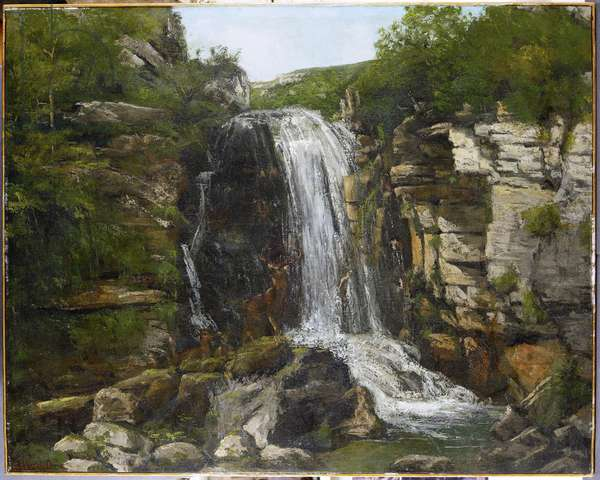 Le Saut de la Breme (circa 1864)