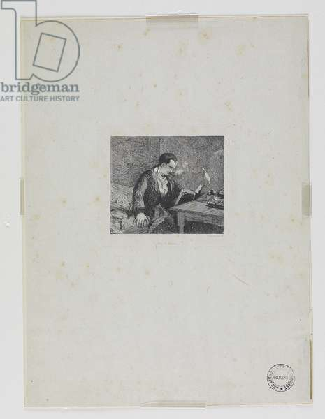 Portrait of Baudelaire (19th century)
