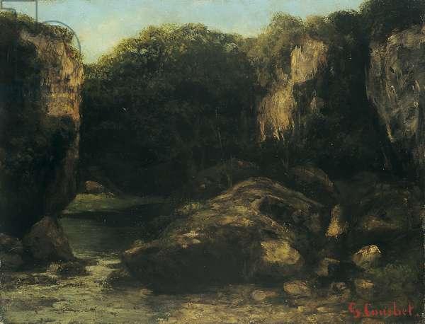 Landscape with Rocks (circa 1875)